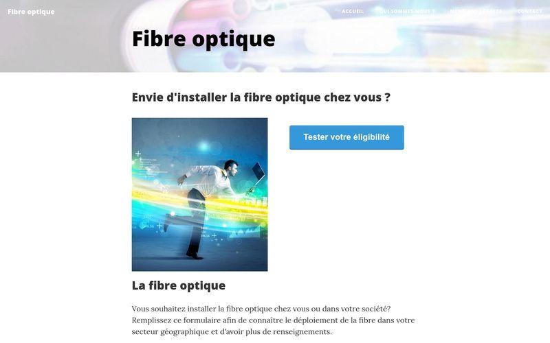 Les avantages de la fibre optique